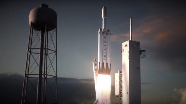 Elon Musk Is Sending A Tesla Roadster Into Space On The Falcon Heavy Rocket [Update: No]
