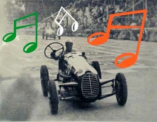 Illustration for article titled When Race Drivers Become Pop Songs