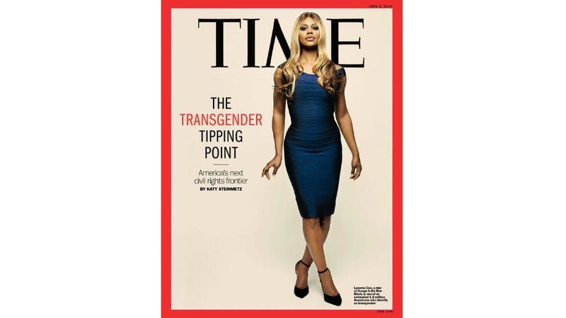 Illustration for article titled Laverne Cox Is on the Cover of Time Magazine