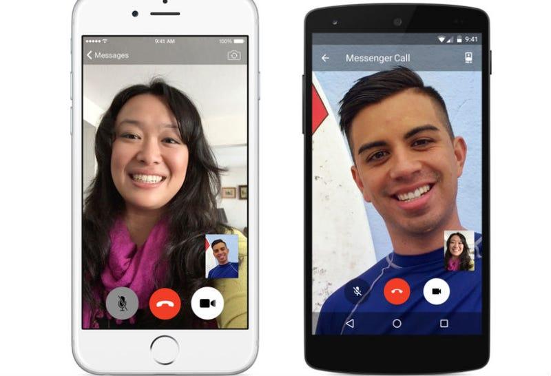 Illustration for article titled Facebook Messenger Adds Video Calls