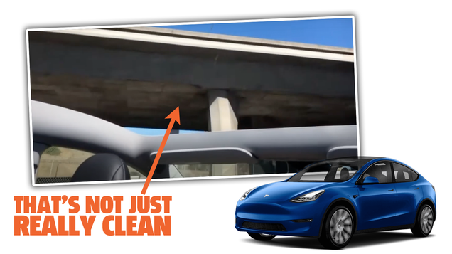 Brand-New Tesla Model Y s Roof Flies Off On First Drive Home