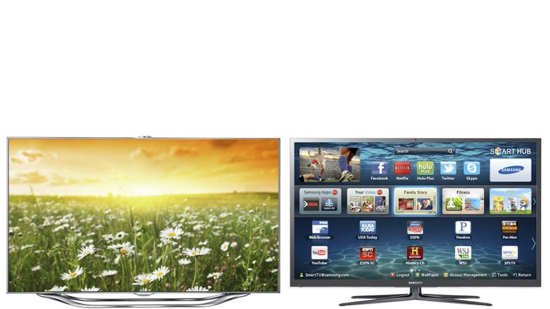 Illustration for article titled Samsung's Best New TVs Beat Apple to the Voice (And Face!) Recognition Game (Updated)