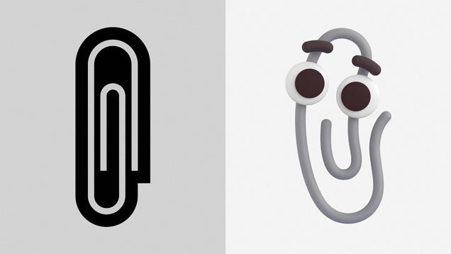 Microsoft Memorializes Clippy by Making It an Emoji