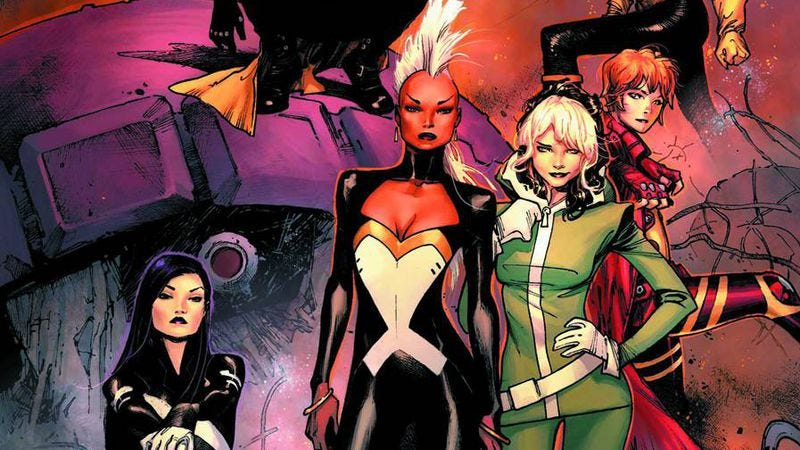 Illustration for article titled Marvel Now! completes Wave One with the all-female X-Men #1