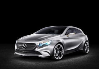 Illustration for article titled 350-hp AMG A-Class in the works