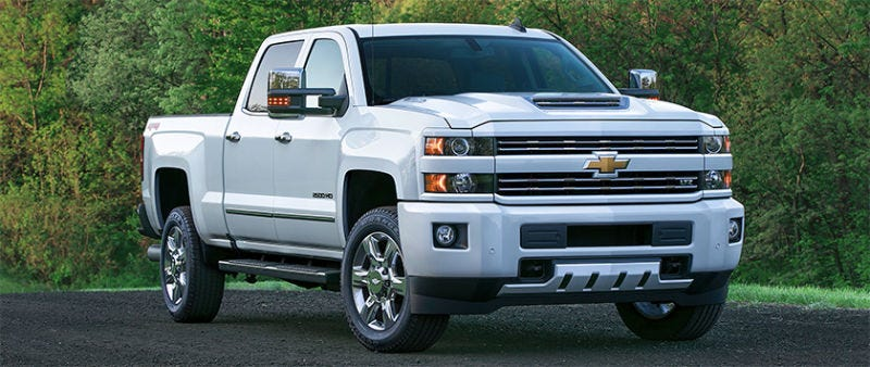 front show trucks pickup heavy is chevy detroit silverado chevrolet auto redesigned tech