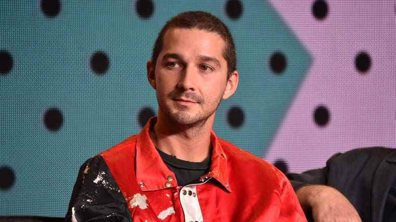 Illustration for article titled Shia LaBeouf is coming for Jared Leto's Joker in this teaser image for The Tax Collector