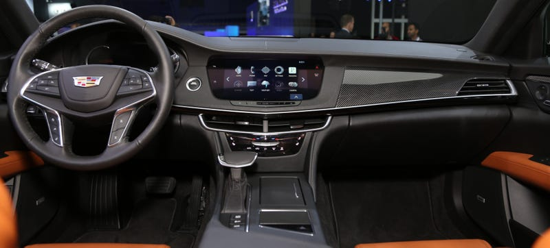 The 2016 Cadillac CT6's Interior Dials Down The Crazy, And ...