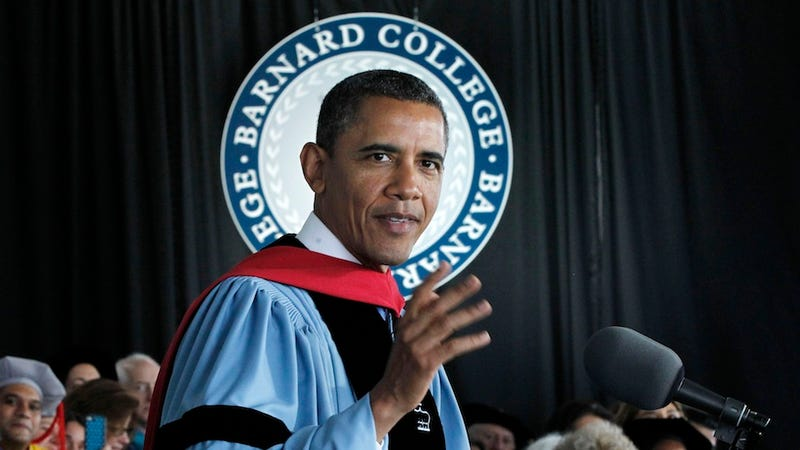 Illustration for article titled President Obama Encourages Female College Grads to be 'Stylish and Powerful'