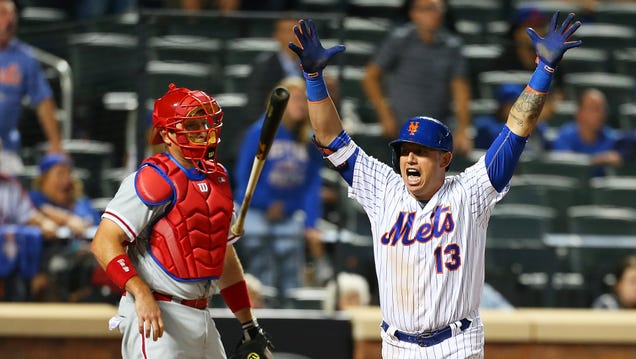 Asdrubal Cabrera Flips The Everloving Shit Out Of His Bat After…
