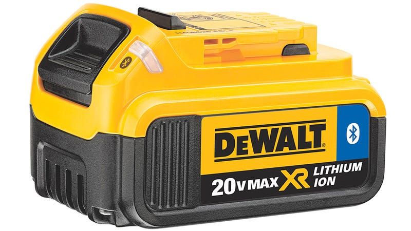 Illustration for article titled Dewalt's Bluetooth Batteries Can Be Shut Down To Deter Tool Thieves