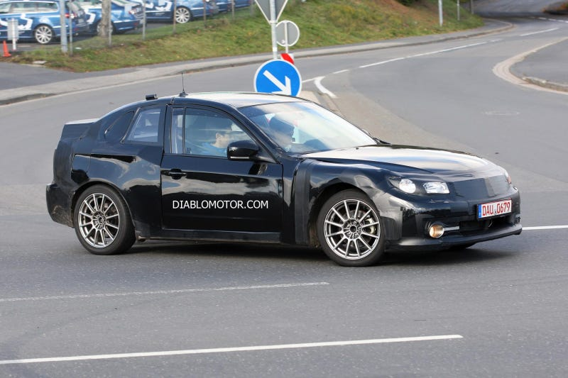 Illustration for article titled 2011 Subaru Coupe On the Nurburgring