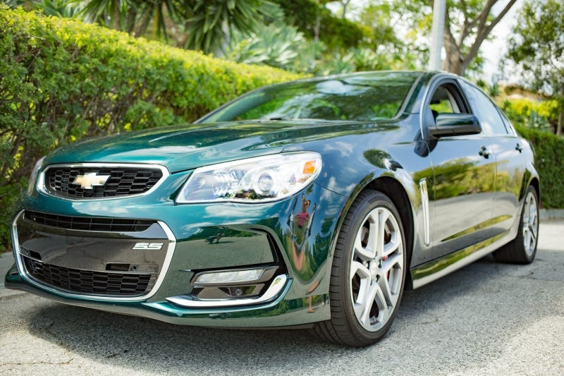 2017 Chevy SS in Regal Peacock Green