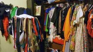Clean Out Your Closet By Getting Rid of Stuff You Wouldn't