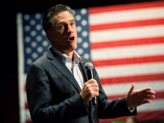 GOP presidential candidate Mitt Romney (Getty Images)