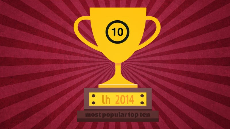Most Popular Top 10s of 2014