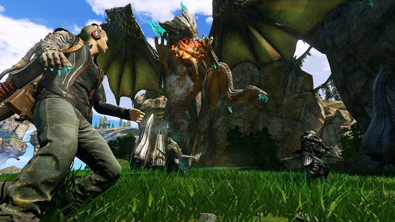 Screenshot: Scalebound/Microsoft Studios