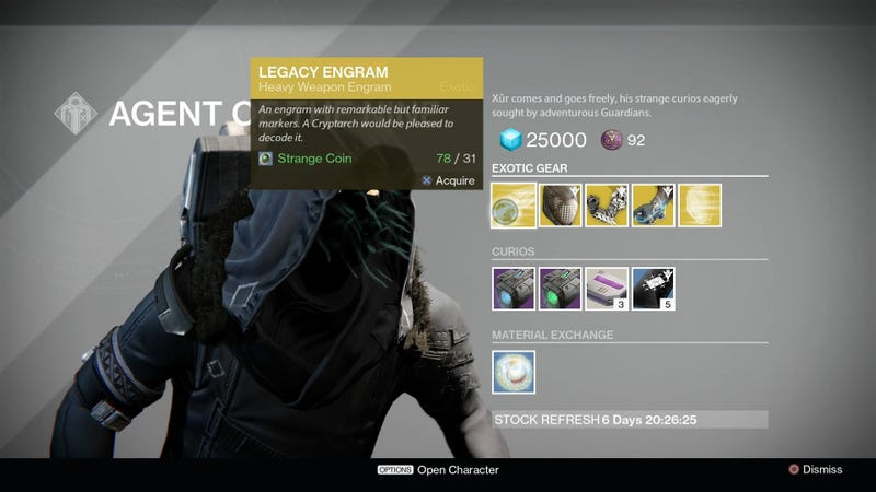 xur location today