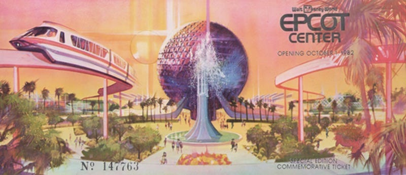 Illustration for article titled Revisiting Epcot Center on its 30th Birthday