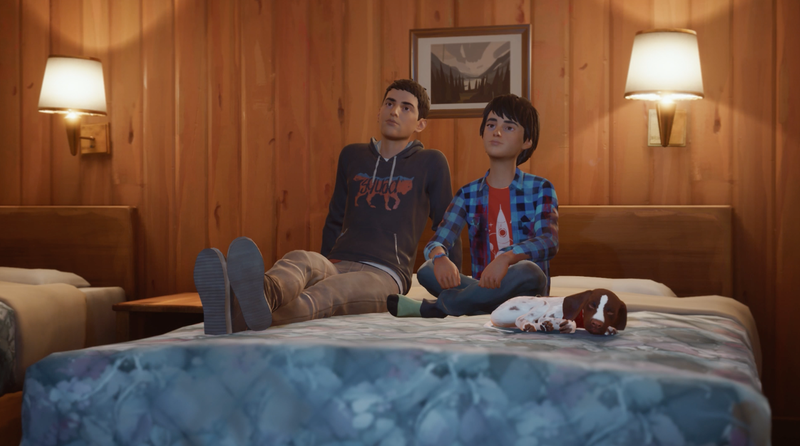 Illustration for article titled The First Episode Of Life Is Strange 2 Doesn't Hide Its Politics