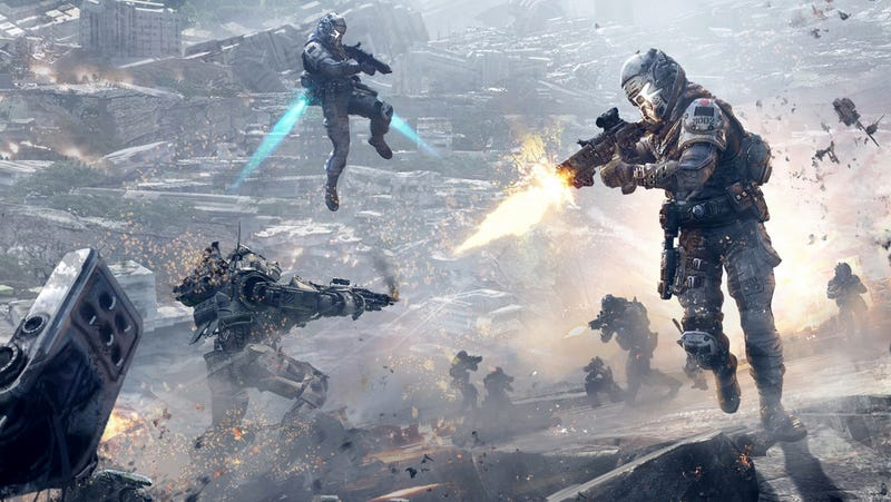 Illustration for article titled Teaser Site Hints At Live-Action Titanfall Content