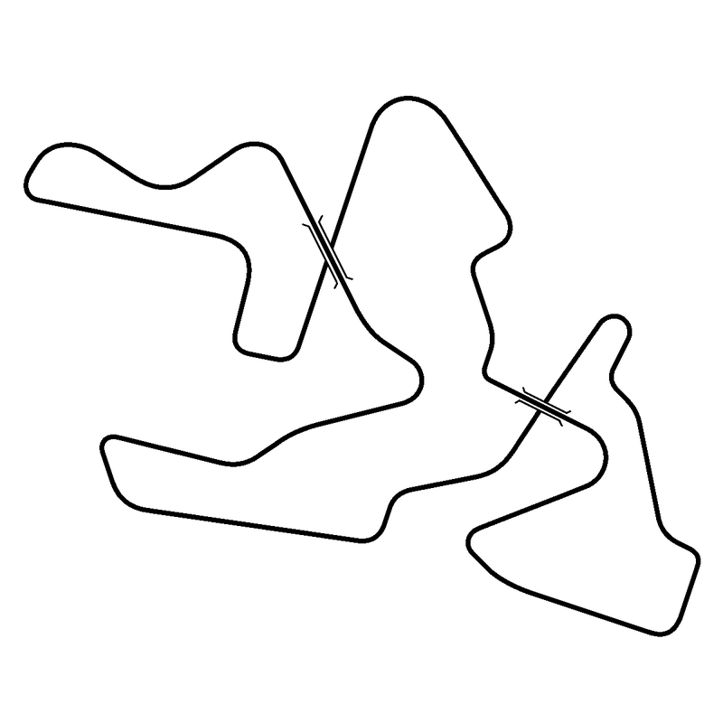Illustration for article titled That's right, people, it's a race track that crosses over TWICE!!!
