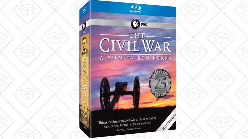 Ken Burns: The Civil War 25th Anniversary Edition   $41   Amazon
