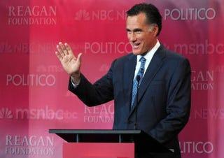 GOP presidential hopeful Mitt Romney (Getty Images)