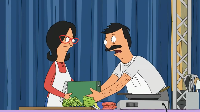Illustration for article titled Blue Apron is releasing a smart, strong, sensual Bob's Burgers meal kit