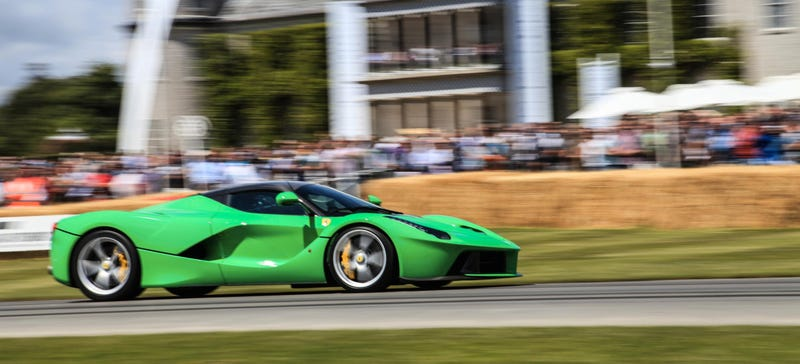 Illustration for article titled Here's Why Jay Kay Got A Kermit Green LaFerrari