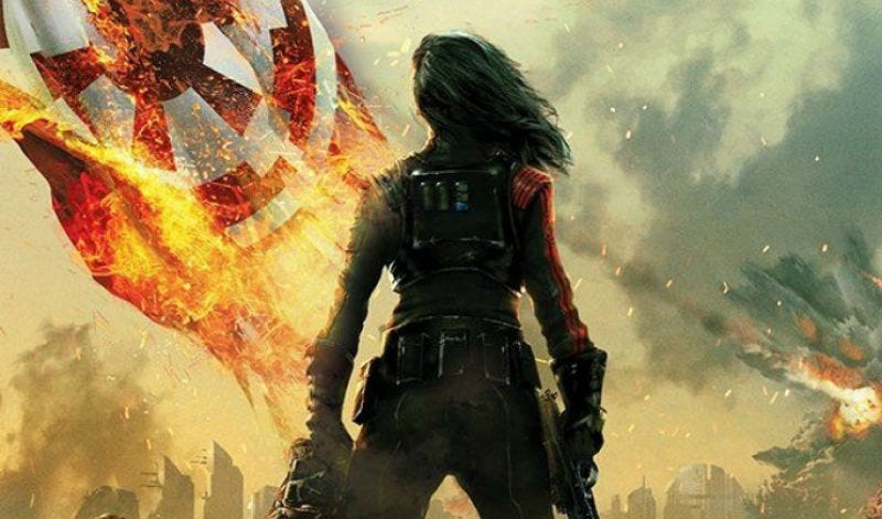 The cover of Star Wars Battlefront II: Inferno Squad. Image: Del Ray