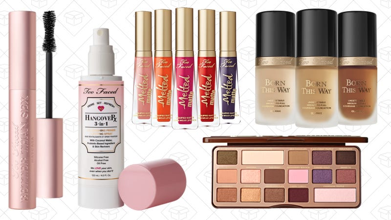 30% off sitewide   Too Faced