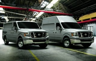 Illustration for article titled Nissan NV Commercial Van: The Perfect Taco Truck