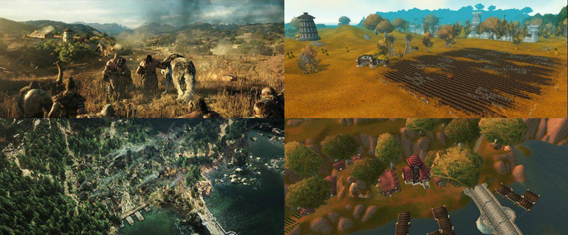 Illustration for article titled Warcraft Movie vs World of Warcraft Locations, In Screenshots