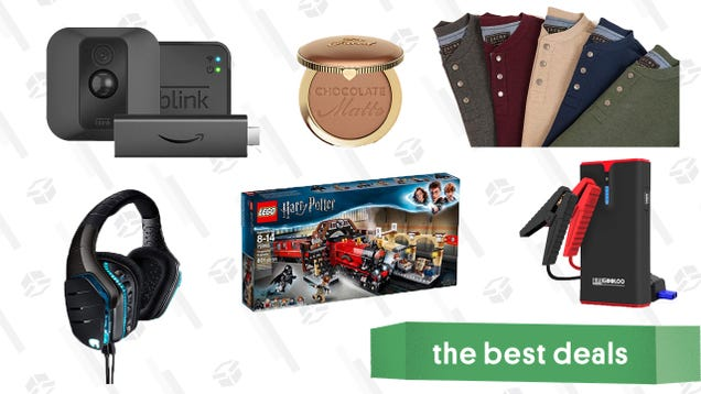 Tuesday s Best Deals: Logitech Gaming Headsets, LEGO Harry Potter, Cozy Waffle Knits, and More