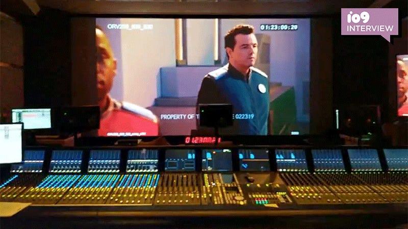 Post-Production on The Orville: Communication, Kombucha, and a Dog Named Bruce Wayne Jr.