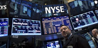 New York Stock Exchange (Ramin Talaie/Getty Images)