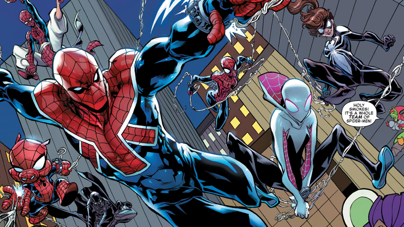 Illustration for article titled Web Warriors Reminds Me Why I Loved Spider-Verse In Just One Goofy Moment