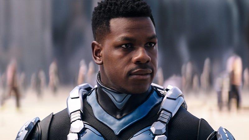 John Boyega as Jake Pentecost in Pacific Rim Uprising.