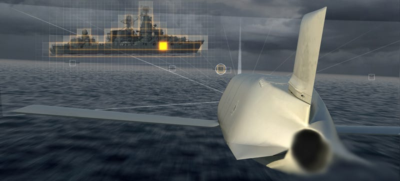 Illustration for article titled The Navy's Smart New Stealth Anti-Ship Missile Can Plan Its Own Attack