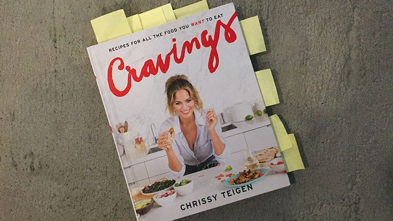 Illustration for article titled Cravings Is a Perfect Cookbook, and a Brilliant Expansion of Chrissy Teigen's Brand