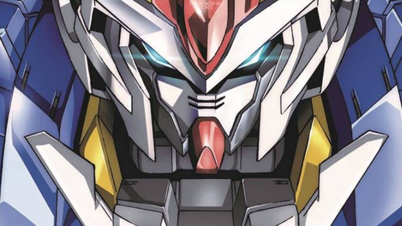 Setsuna Seiei's 00 Gundam.