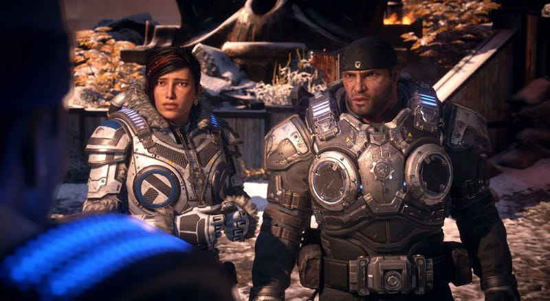 Illustration for article titled Microsoft RevealsGears Of War 5 (And Two Spinoffs)
