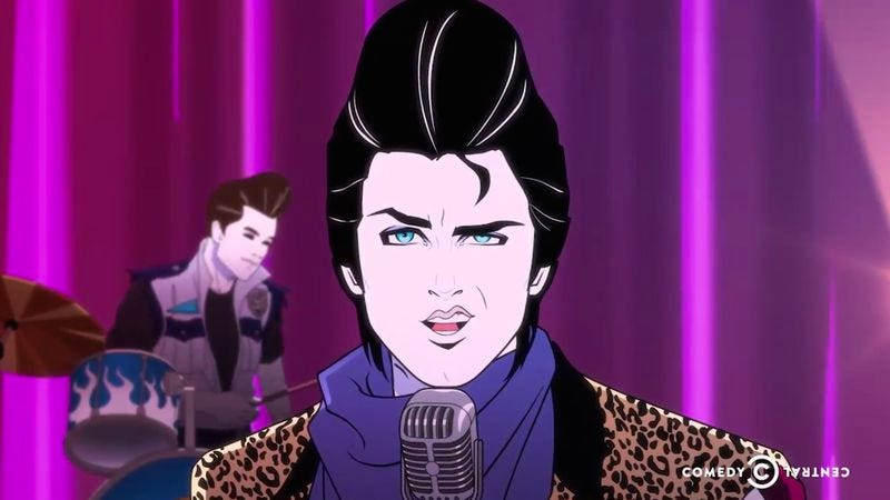 Illustration for article titled Comedy Central cancels Moonbeam City after one sexy, stylish season