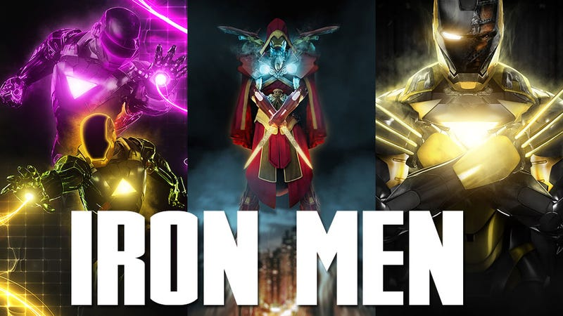 Illustration for article titled Iron Man As Assassin's Creed (And Dragonball, And...Daft Punk)