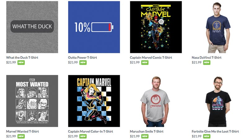 Buy Two, Get 1 Free T-Shirts | Think Geek | Promo code B2G1TEE