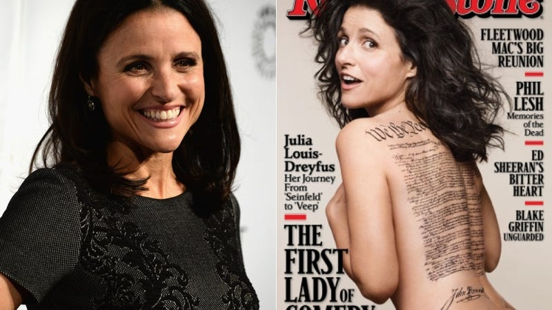 Illustration for article titled Julia Louis-Dreyfus Blames Rolling Stone Cover Mistake on Mike