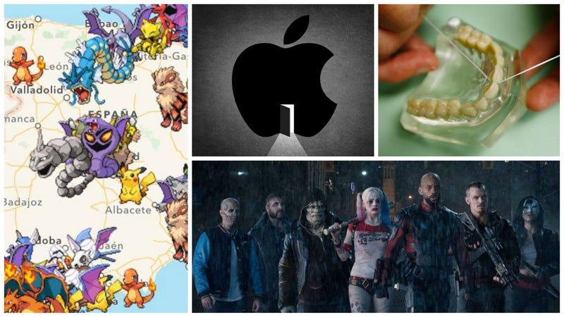 Todo sobre Suicide Squad, el iPhone 7 y mucho Pokémon Go. Lo mejor de la semana