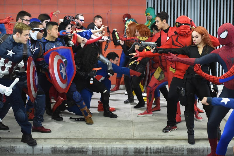 Cosplay at the 2016 New York Comic Con at the Jacob Javits Center on Oct. 7, 2016, in New York City