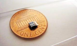 Illustration for article titled World's Smallest Solar Sensor Could Run Indefinitely